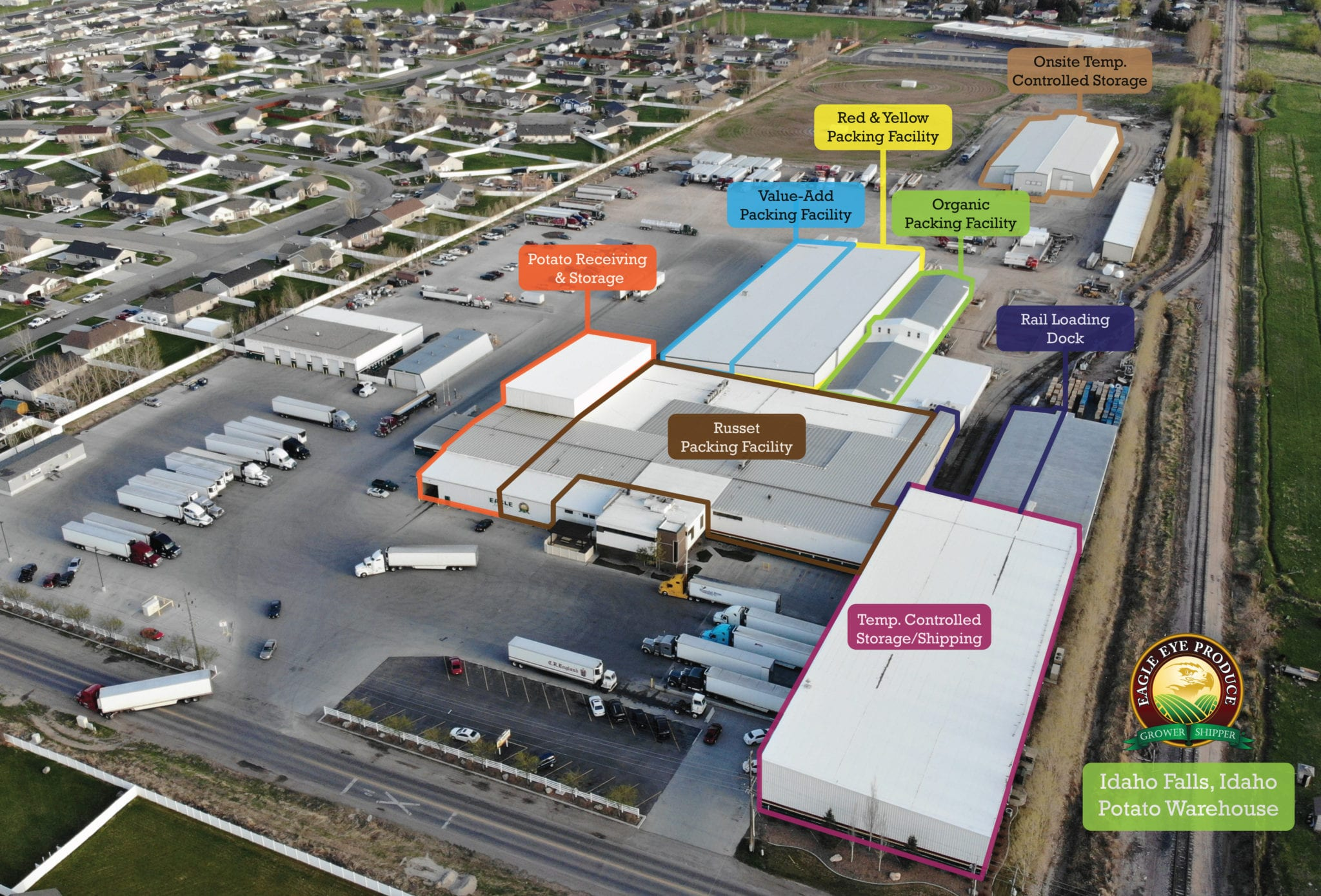 Eagle Eye Produce Idaho Facility