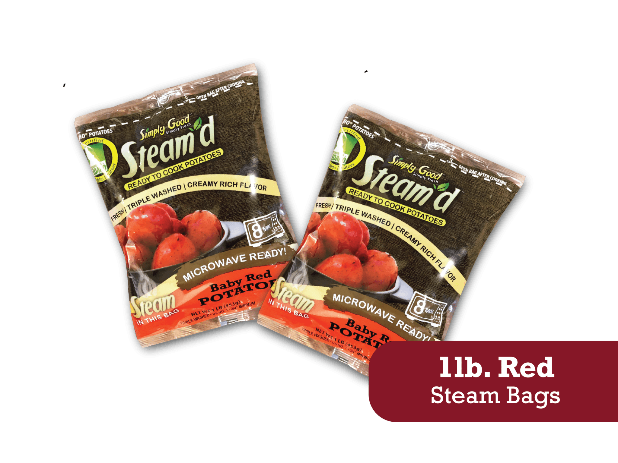 Eagle Eye Produce Steam'd 1 lb Red Steam Bags