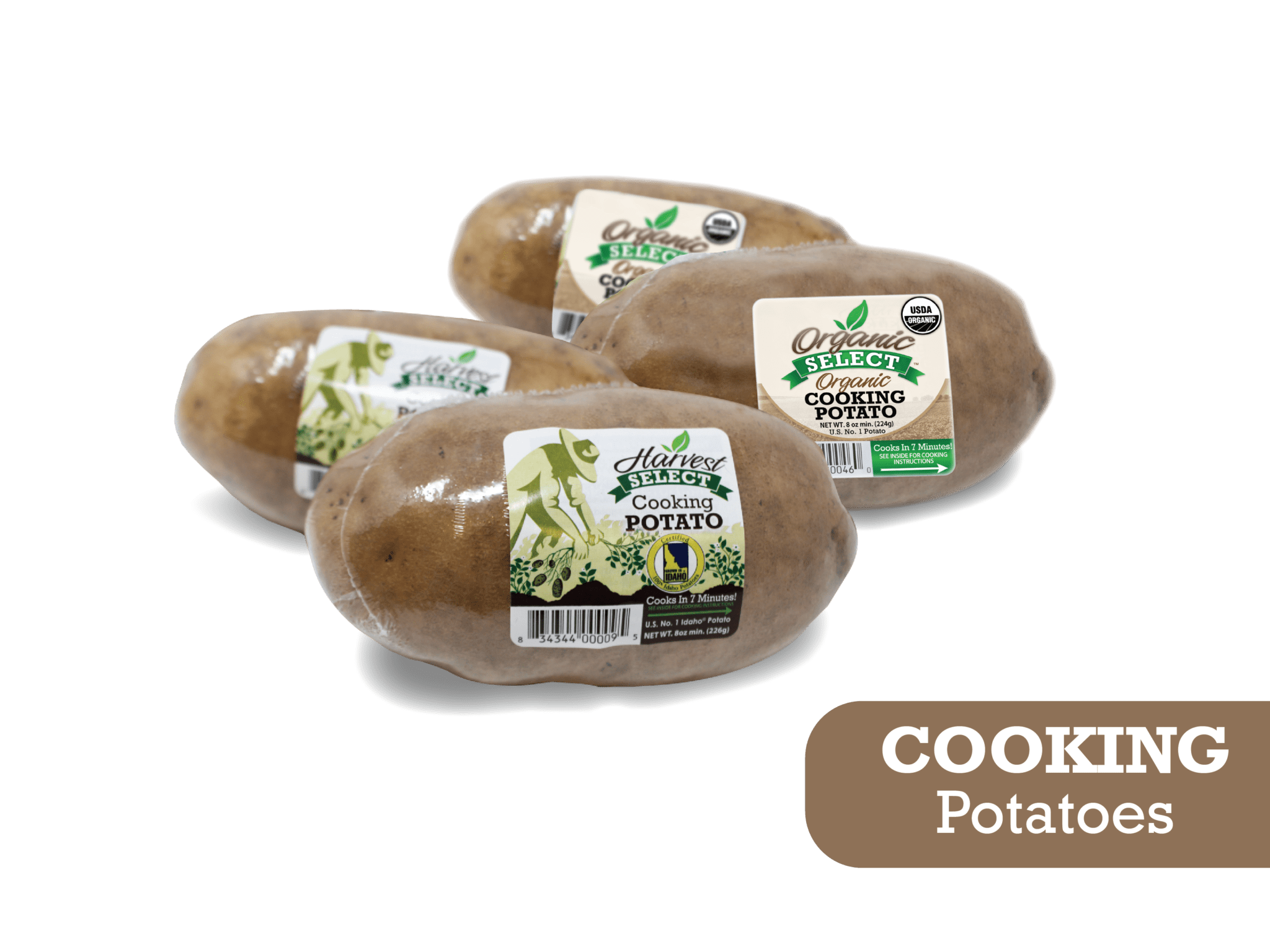 Eagle Eye Produce Organic Select Cooking Potatoes