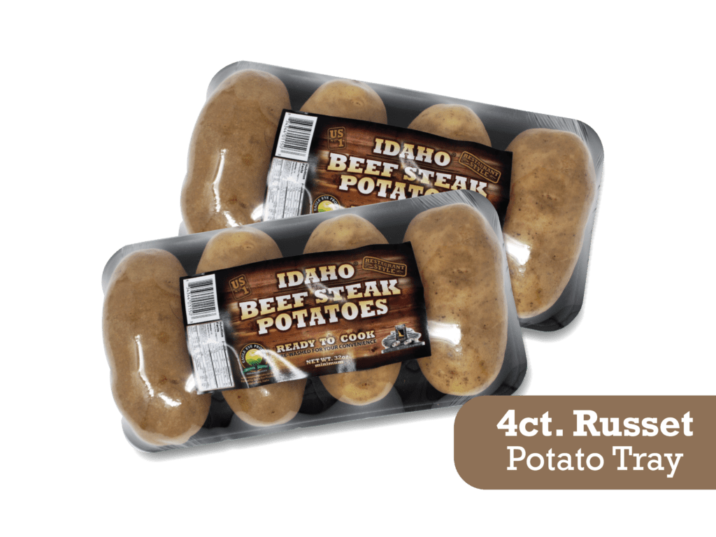 Idaho Beef Steak Potatoes
