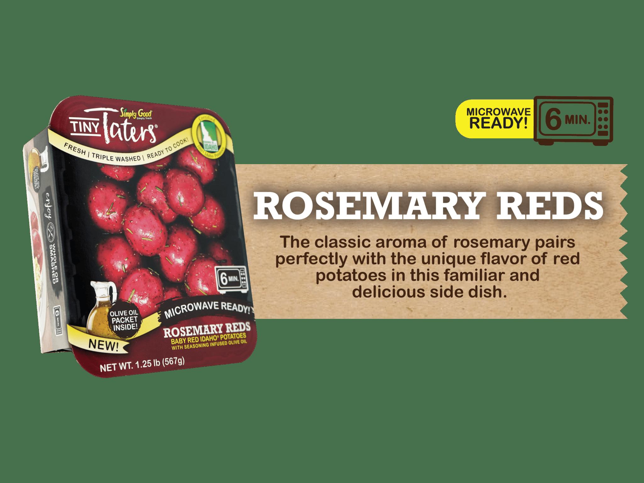 Eagle Eye Produce Tiny Taters Rosemary Reds