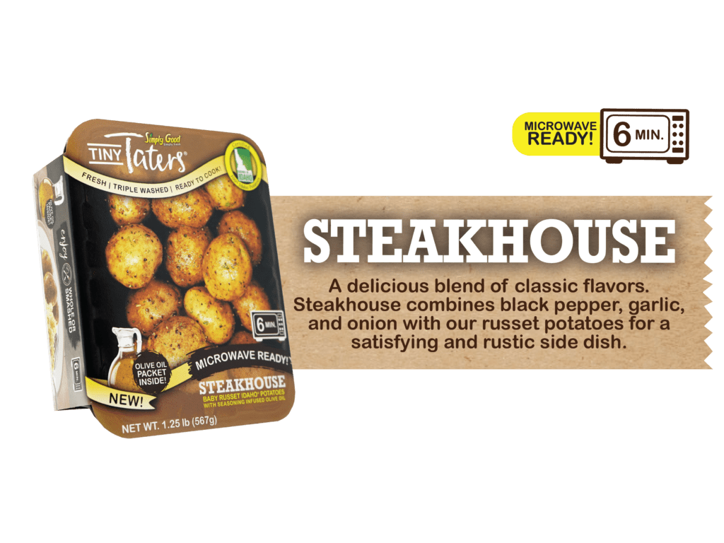 Eagle Eye Produce Tiny Taters Steakhouse Flavor