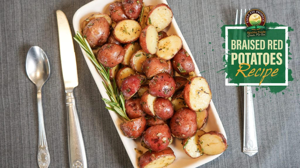 Braised Red Potatoes Recipe