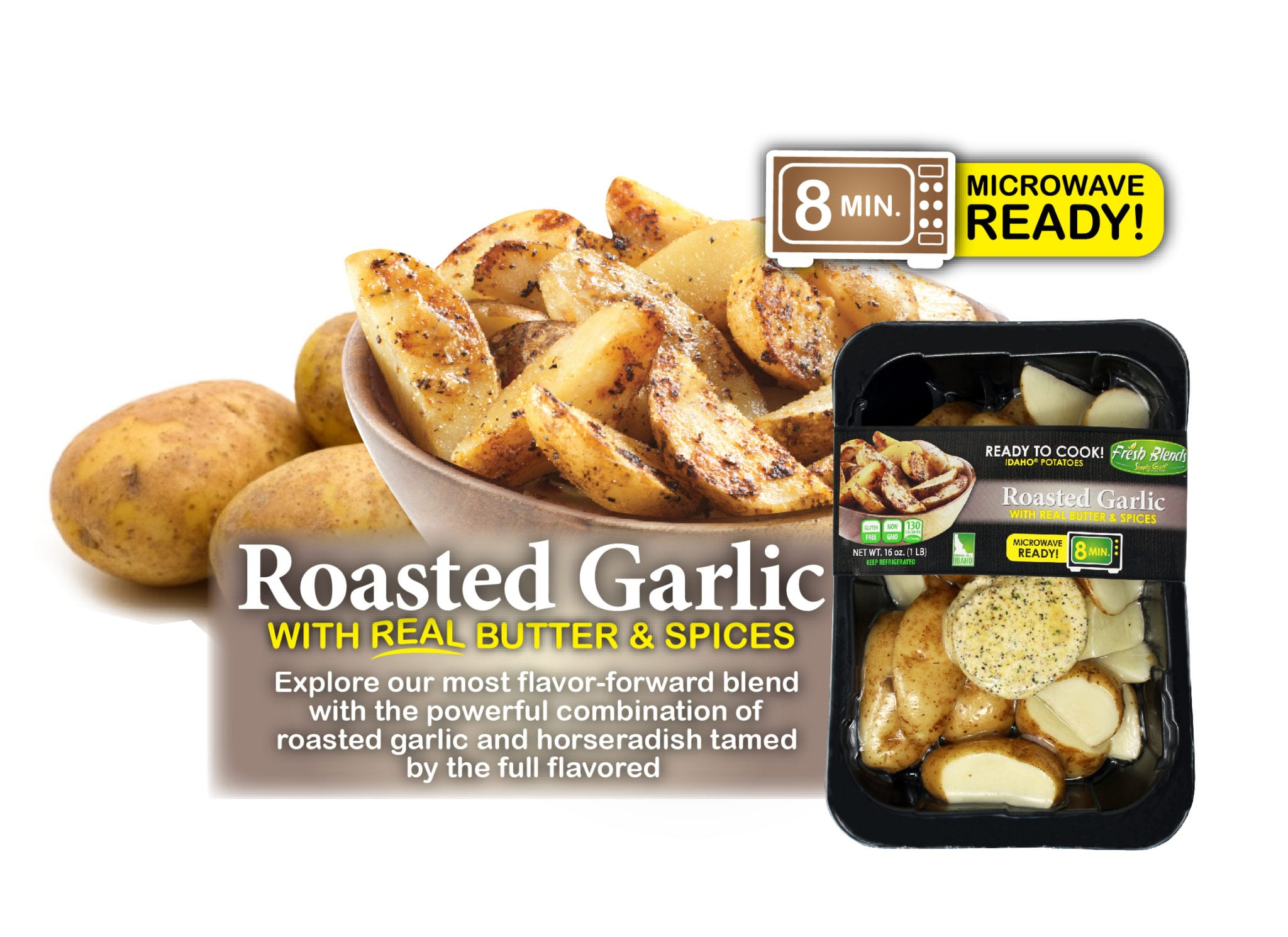 Eagle Eye Produce Fresh Blends Roasted Garlic
