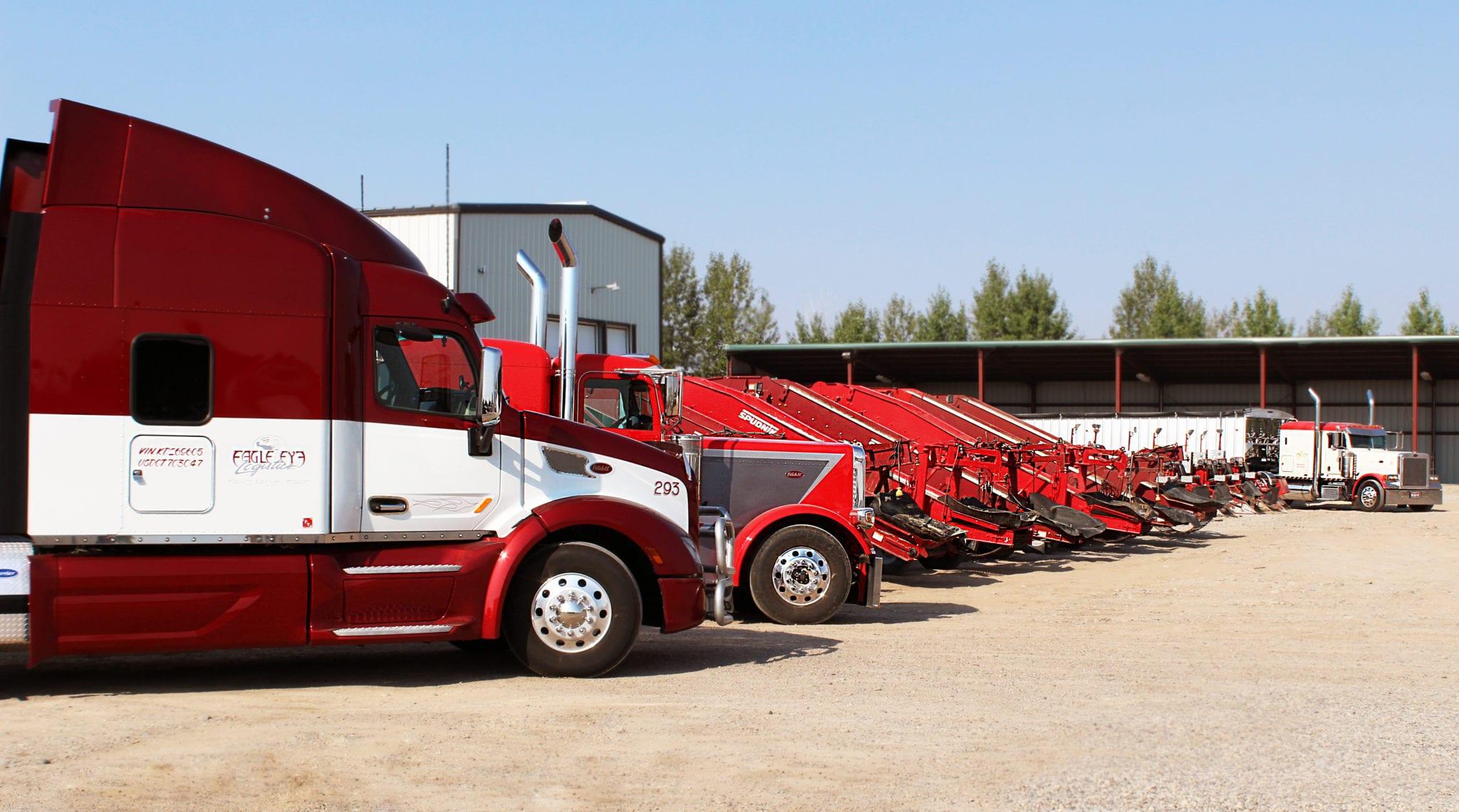 Eagle Eye Logistics Trucks